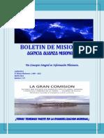 Boletin de Misiones 14-05-2013