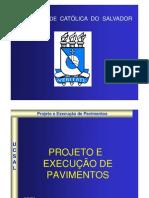 Projeto e execução de Pavimentos 24-04-2013