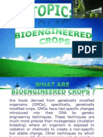 Bioengineered Crops