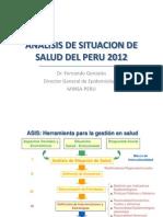 Análisis de situación de salud en el Perú