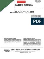 Ideal Arc Cv-400