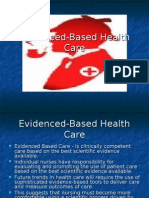 Evidenced Based Healthcare