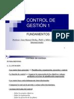 Clase 3_CONTROL DE GESTIÓN 1 FUNDAMENTOS