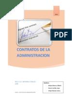 Contratos de La Administracion