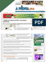 14-03-2013 'CNOP es fortaleza del PRI y Tamaulipas', Pepe Elías