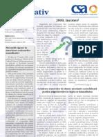 Buletin informativ CSA 2009