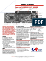 TML System Host Board Core 2 Duo PICMG 1.3 Graphics Class - Chassis Plans TML Datasheet