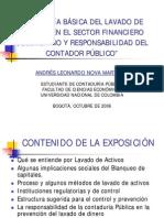 Tipologia Basica Del Lavado de Activos en El Sector Financiero - Presentacion