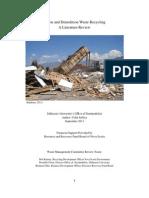Final C&D Literature Review