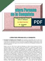 literaturaperuanadelaconquista-110424151742-phpapp01