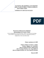 Programa Epist. de Cs. Sociales