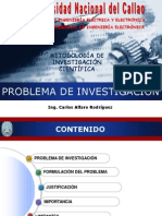 PROBLEMA DE INVESTIGACIÓN 2013-V FIEE