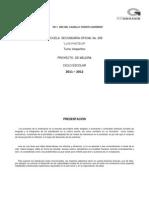 Proyecto de Mejora 2011 (2)