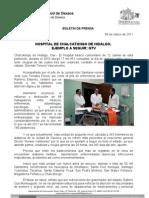 09/03/11 Germán Tenorio Vasconcelos Hospital de Chalcatongo de Hidalgo, Ejemplo a Seguir GTV