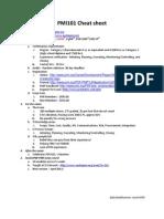 PMI101-CheatSheet