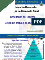Evaluacion Indicadores Sector Rural en Jalisco, México