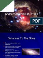 Characteristics of Stars