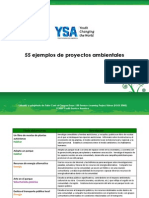 Ejemplos Proyectos Ambientales