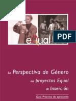 Perspectivas Genero en Proyectos EQUAL