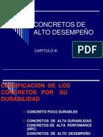 CONCRETOS DE ALTO DESEMPEÑO- ELEMENTOS.ppt