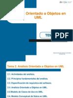 Transparencias Tema 2 Analisis Orientado a Objetos III MCOM