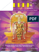 Siddhi Times-April 2009-Commander Selvam / Dr. Commander Selvam / Swamiji Sri Selvam Siddhar