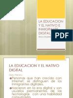 La Educacion y El Nativo Digital