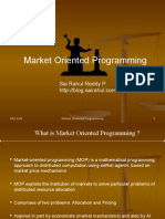 Market Oriented Programming