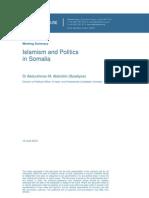 Islam and Politics in Somalia