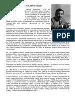 Biografia de Carlos Solorzano