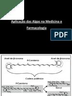 Aplicação das Algas na Medicina e Farmacologia
