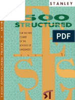 1500 Test de Standley Libro 1