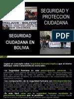 Seguridad Ciudadana en Bolivia