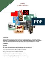 Webquest Guerra Fria