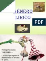 Genero Lirico Ppt