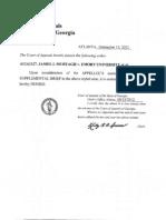 September 13 2012 Supp Brief Denied Appellee