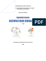 Management Ecologic Si Dezvoltare Durabila