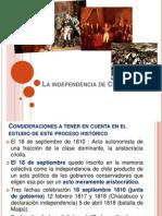 La Independencia de Chile Arreglado