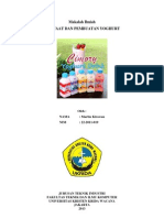 Artikel Ilmiah Yoghurt