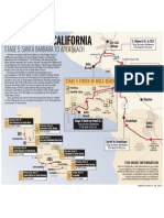 Tour of California Stage 5 map