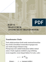Trafo Ukur (Instrument Transformer)