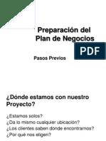 Workshop Previo Plan de Negocios
