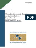 Globalización y crisis
