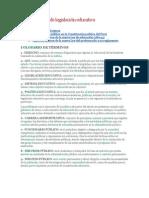 Manual básico de legislación educativa