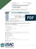 Manual de Instalacion Jflex y Cup en Windows Roger Giron 201114674