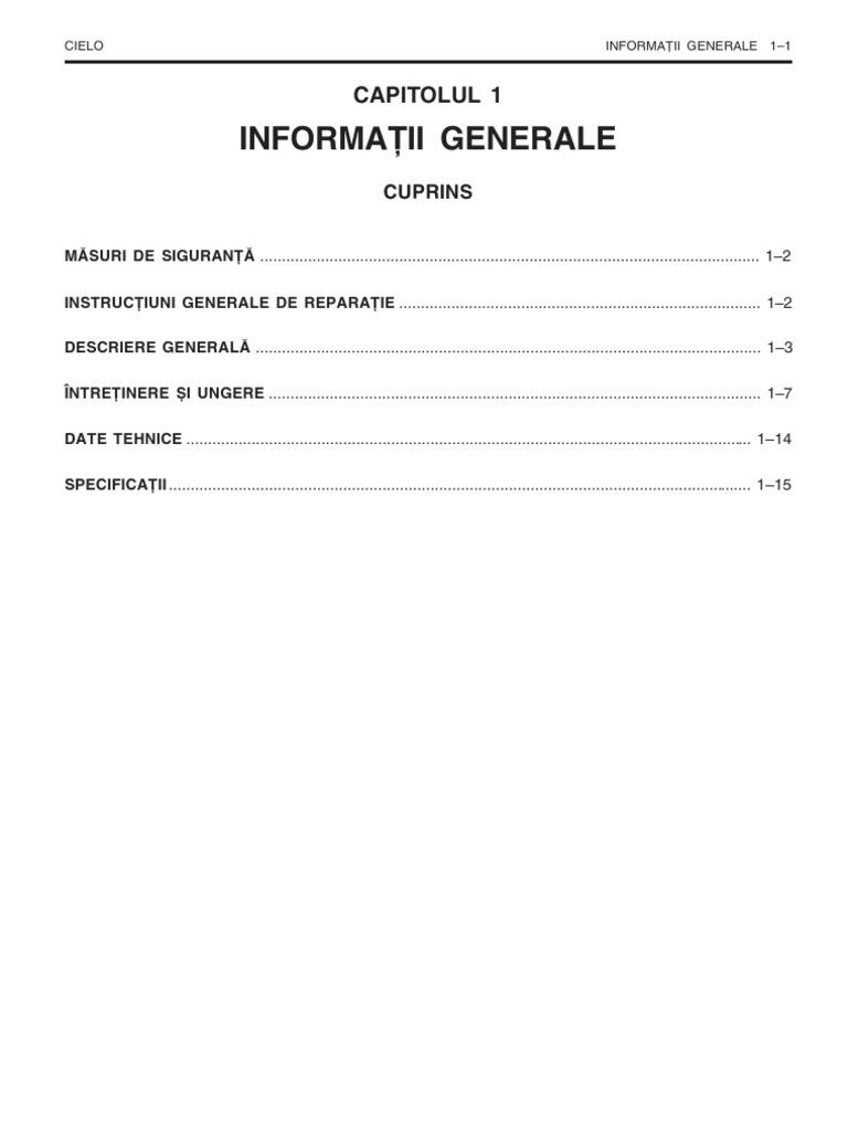 Daewoo Cielo Repair Manual Free Download One Word Quickstart Workshop Service Rh Scribd Com