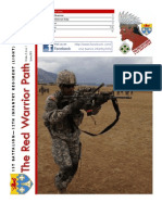 The Red Warrior Path (FEB-APR 13)
