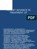 Recent Advance in Treatment of Schizophrenia