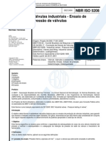 ABNT ISO 5208-2000