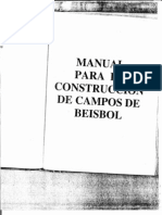 Manual Construccion Campo de Beisbol